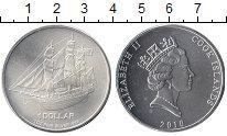 Изображение Монеты Острова Кука 1 доллар 2010 Серебро UNC