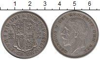 Изображение Монеты Европа Великобритания 1/2 кроны 1935 Серебро VF