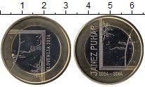 Изображение Монеты Словения 3 евро 2014 Биметалл UNC