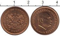 Изображение Монеты Сьерра-Леоне 1/2 цента 1980 Бронза UNC