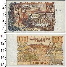 Изображение Банкноты Алжир 100 динар 1970  UNC-