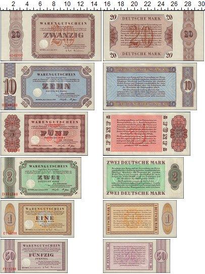 Изображение Банкноты Германия Тестовая банкнота 1958  UNC-
