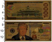 Изображение Банкноты США 1000 долларов 2018  UNC-
