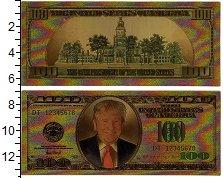 Изображение Банкноты США 100 долларов 2018  UNC-