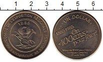 Изображение Мелочь Северная Америка Канада 1 доллар 1985 Медно-никель UNC-