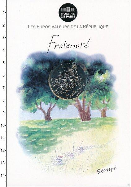 Изображение Подарочные монеты Франция 10 евро 2014 Серебро UNC