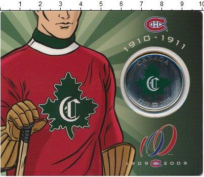 Изображение Подарочные монеты Северная Америка Канада 50 центов 2009 Медно-никель UNC