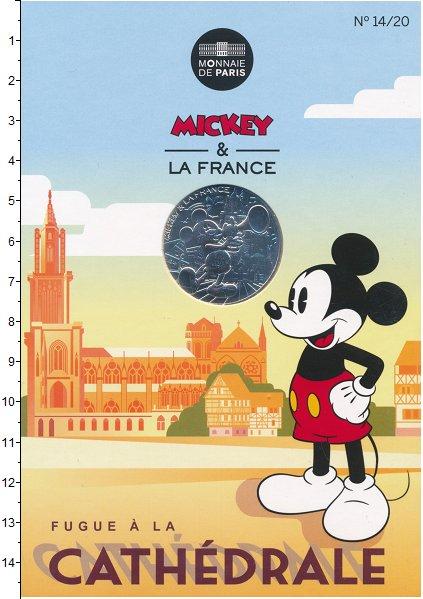 Изображение Монеты Европа Франция 10 евро 2018 Серебро UNC