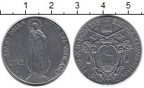 Изображение Монеты Европа Ватикан 1 лира 1941 Медно-никель XF