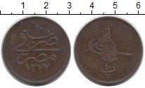 Изображение Монеты Африка Египет 10 пар 1870 Медь XF
