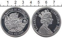 Изображение Монеты Великобритания Гибралтар 5 фунтов 2009 Серебро Proof
