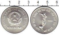Изображение Монеты Вьетнам 100 донг 1986 Серебро UNC