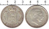 Изображение Монеты Дания 2 кроны 1916 Серебро XF