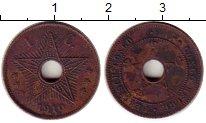 Изображение Монеты Бельгия Бельгийское Конго 1 сантим 1910 Бронза XF