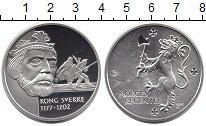 Изображение Монеты Норвегия Медаль 0 Серебро Proof Король Сверрир Сигур