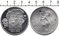 Изображение Монеты Норвегия Медаль 0 Серебро Proof Король Кристиан II 1