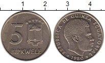 Изображение Монеты Экваториальная Гвинея 500 франков 1980 Медно-никель UNC-