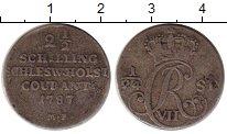 Изображение Монеты Шлезвиг-Гольштейн 2 1/2 шиллинга 1787 Серебро VF