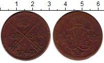 Изображение Монеты Европа Швеция 1 эре 1747 Медь VF