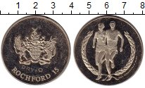 Изображение Монеты Великобритания Жетон 0 Медно-никель VF