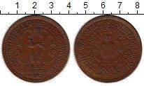 Изображение Монеты Германия : Нотгельды 1/80 риала 1923 Медь XF Город Пайне