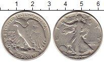 Изображение Монеты Северная Америка США 1/2 доллара 1944 Серебро VF