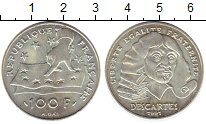 Изображение Монеты Франция 100 франков 1991 Серебро UNC-