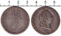 Изображение Монеты Германия Брауншвайг-Люнебург 2/3 талера 1814 Серебро XF