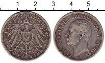 Изображение Монеты Германия Саксония 2 марки 1898 Серебро XF-