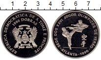 Изображение Монеты Сан-Томе и Принсипи 1000 добрас 1996 Медно-никель UNC-