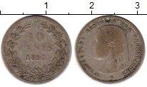 Изображение Монеты Европа Нидерланды 10 центов 1893 Серебро VF
