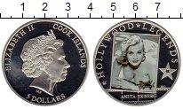 Изображение Мелочь Острова Кука 5 долларов 2012 Серебро Proof