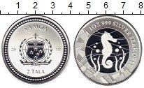 Изображение Монеты Австралия и Океания Самоа 2 тала 2018 Серебро Proof