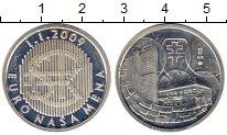 Изображение Монеты Словакия Жетон 2009 Серебро Proof-