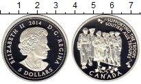 Изображение Монеты Канада 5 долларов 2014 Серебро Proof Елизавета II