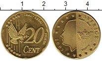 Изображение Монеты Швеция 20 евроцентов 2003 Латунь UNC-