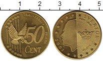 Изображение Монеты Швеция 50 евроцентов 2003 Латунь UNC-