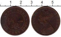 Изображение Монеты Гонконг 1 цент 1901 Бронза VF