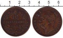 Изображение Монеты Италия Италия 1893 Медь VF+