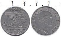 Изображение Монеты Европа Италия 50 сентесим 1941 Никель XF