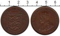 Изображение Монеты Остров Джерси 1/12 шиллинга 1933 Бронза XF Георг V