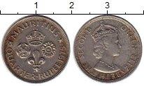 Изображение Монеты Маврикий 1/4 рупии 1975 Медно-никель XF
