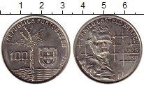 Изображение Монеты Европа Португалия 100 эскудо 1990 Медно-никель UNC-