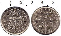 Изображение Мелочь Непал 1 рупия 0 Медно-никель UNC-