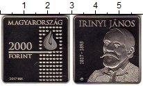 Изображение Монеты Европа Венгрия 2000 форинтов 2017 Медно-никель Proof