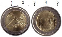 Изображение Монеты Италия 2 евро 2013 Биметалл XF Боккачио