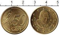 Изображение Монеты Ватикан 50 евроцентов 2011 Латунь UNC- Бенедикт XVI