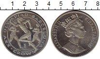 Изображение Монеты Гибралтар 1 крона 1991 Медно-никель XF