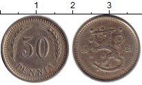 Изображение Монеты Финляндия 50 пенни 1921 Медно-никель XF-