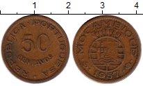 Изображение Монеты Африка Мозамбик 50 сентаво 1957 Бронза XF-